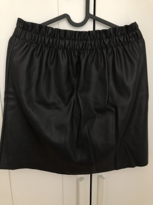 Laura Torelli Leren rok zwart