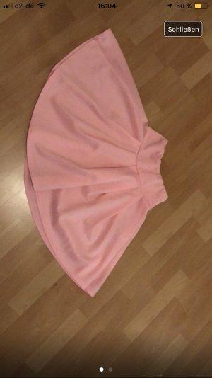 Jupe à plis rose-rose clair