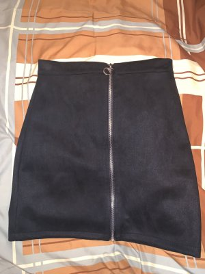 Colloseum Falda de talle alto negro