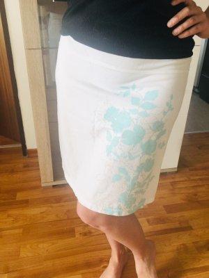 Buffalo Maxi Skirt white-turquoise