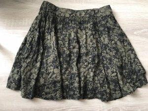 Skater Skirt dark green-khaki
