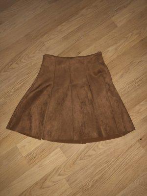 Tally Weijl Jupe taille haute bronze