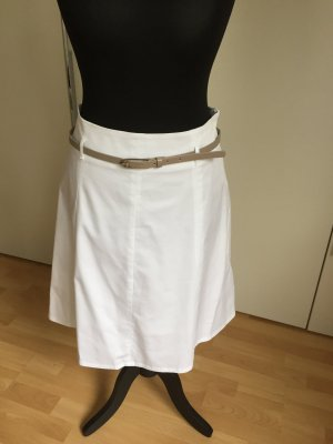 Cool Code Skirt white cotton