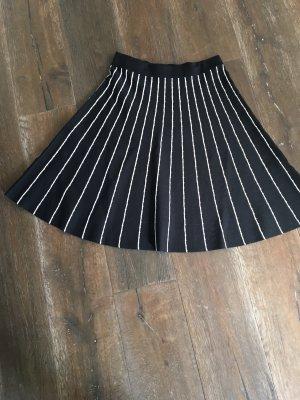 Derhy Wool Skirt black-natural white