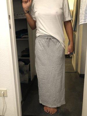 Edc Esprit Falda larga gris claro