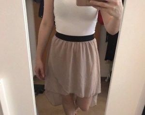 Plaid Skirt beige