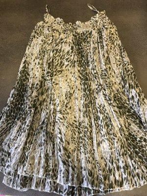 Laura Kent Pleated Skirt multicolored
