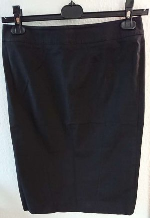 Alessandro Dell' Acqua Pencil Skirt black cotton