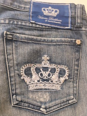 Rock and Republik Jeans 30 mit Strass