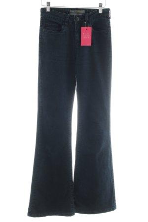 Rock angel Boot Cut Jeans blau Business-Look