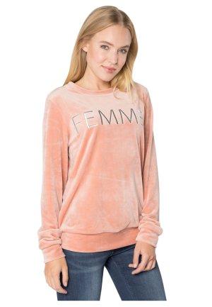 ROCK ANGEL Damen Nicki-Pullover FEMME – Sweatshirt – Sweat-Pullover mit Print