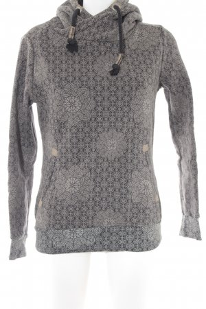 Rock angel Kapuzenpullover florales Muster Casual-Look