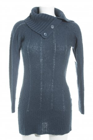 Rock angel Rollkragenpullover kadettblau Casual-Look