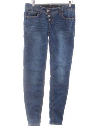Rock angel Skinny Jeans blau Casual-Look