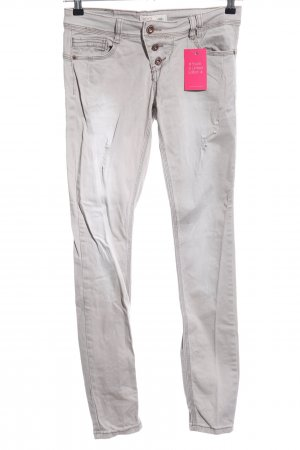 Rock angel Stretch Jeans hellgrau Casual-Look