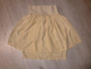 Tandem Silk Skirt cream-white