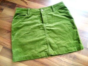 Rock aus Cord, grün, Gr. 40