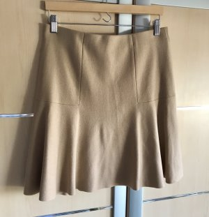 Marc Cain Wool Skirt rose-gold-coloured-beige cashmere