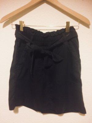 H&M L.O.G.G. High Waist Skirt dark blue lyocell