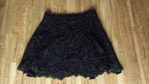 Twist & Tango Kanten rok zwart