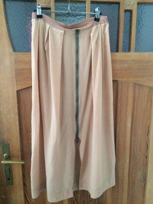 Silk Skirt pink-nude