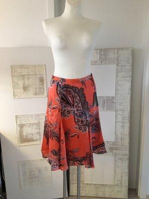 Madeleine Silk Skirt multicolored