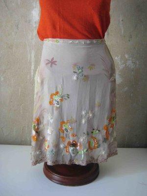 Liu jo Silk Skirt multicolored silk