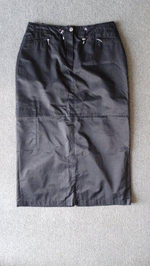 Bonita Jupe cargo noir-gris anthracite tissu mixte