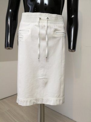 Airfield Maxi Skirt white