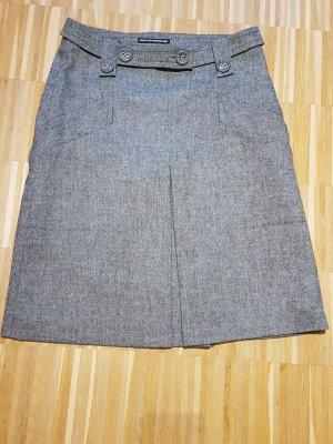 Drykorn Midi Skirt white-black