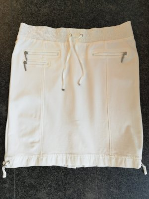 Airfield High Waist Skirt white