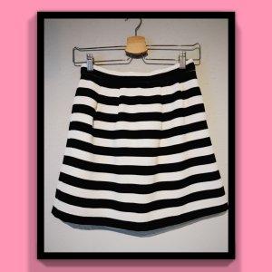 Dotti Flared Skirt black-white