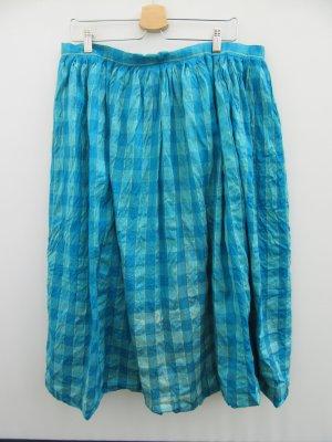 Vintage Gonna a pieghe blu