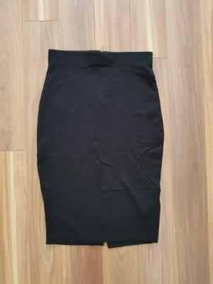 Rock Bleistiftrock in schwarz Gr. S von H&M