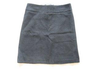 rock bleistiftrock schwarz H&M neuwertig gr 34 xs