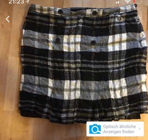 Wool Skirt black