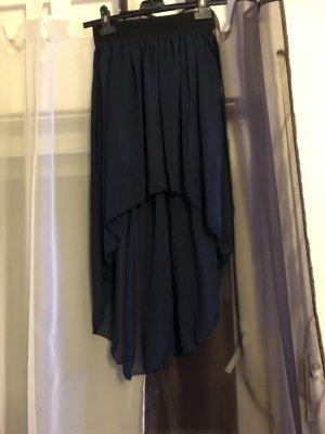 Stretch Skirt black-dark blue