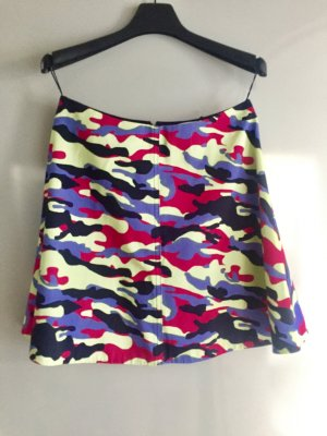 Rock Carven Camouflage Minirock
