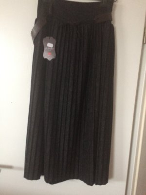 Pleated Skirt anthracite