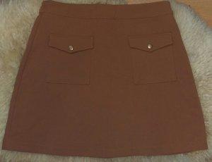 H&M Skater Skirt bronze-colored