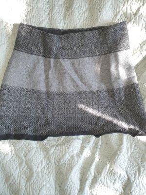 Promod Gonna lavorata a maglia grigio