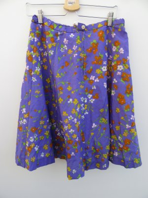 Vintage Jupe évasée violet