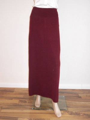 Wool Skirt bordeaux