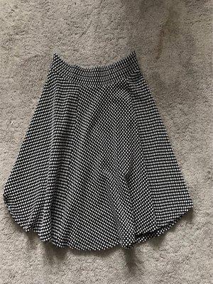 Pimkie High Waist Skirt black-white