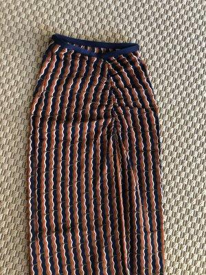 Diane von Furstenberg Falda asimétrica multicolor
