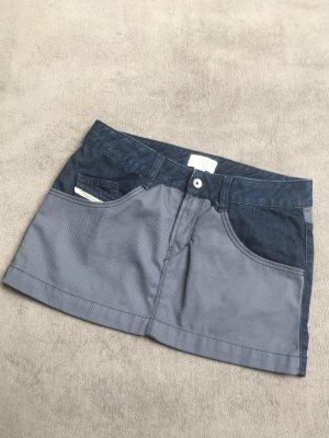 Diesel Spijkerrok grijs-blauw