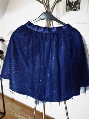 Orsay Tule rok donkerblauw