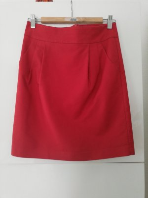 Hallhuber Tulip Skirt red