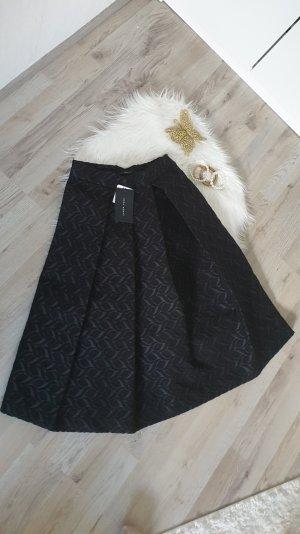Zara Woman Jupe taille haute noir