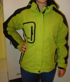 Double Jacket black-meadow green